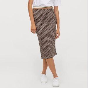 GP & J BAKER x H&M Knit Pencil Skirt